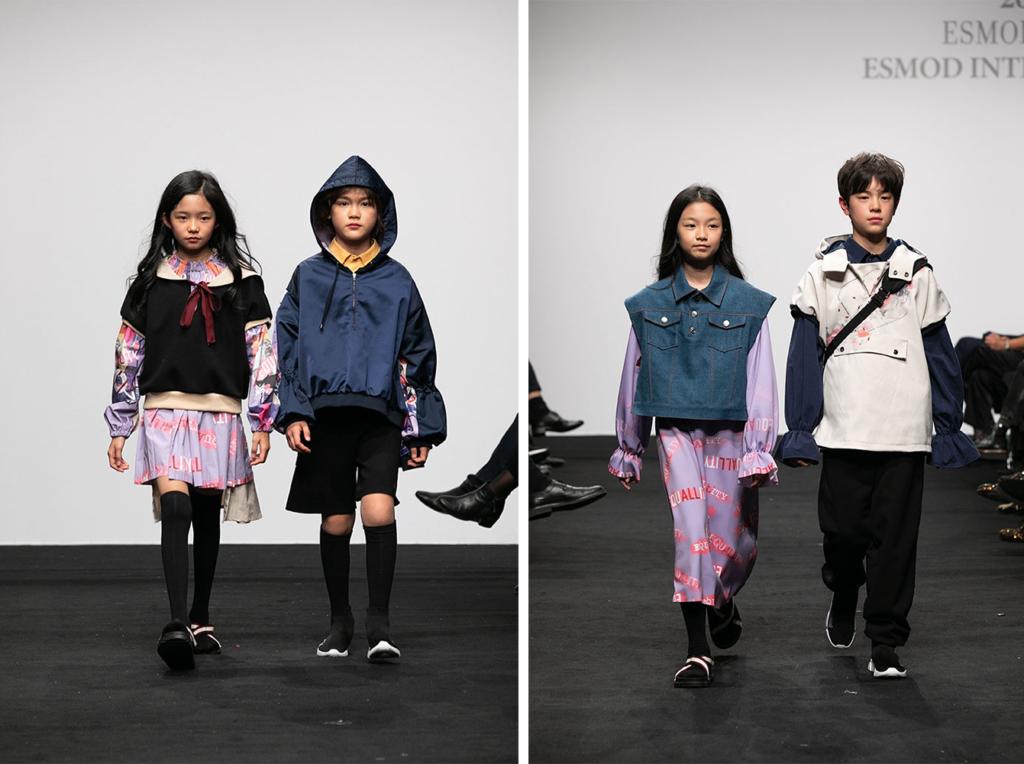 ESMOD Séoul, 2019, Yoon Chung Park, Philippe Lefort, Yun Jung JUNG, Soo Bin BAE, So Hee LIM